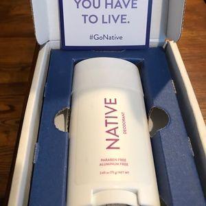 Native Deodorant - Rose & Lavender - New in Box